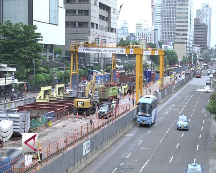Proyek MRT Fase Pertama Rampung 80 Persen
