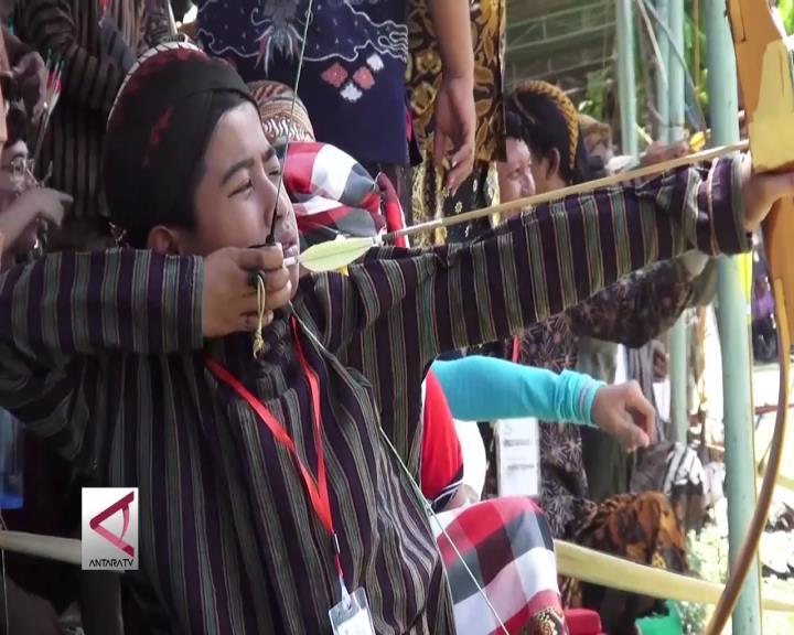 Jemparingan Lomba Panah Ala Mataram