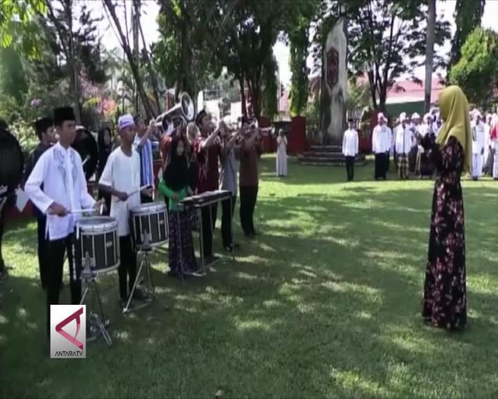 Peringatan Hari Santri Nasional di Kalteng