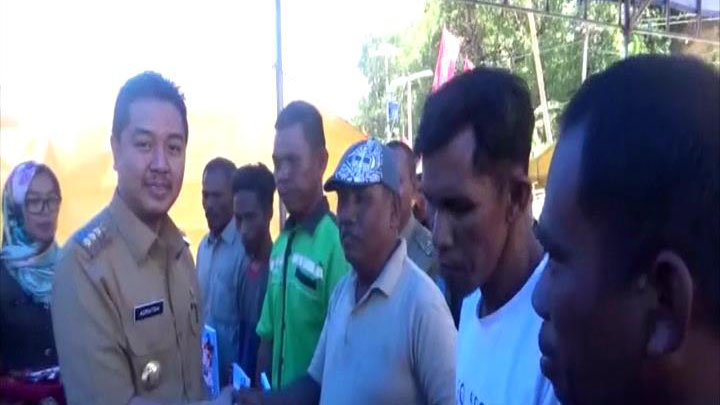 Bantuan 60 Unit Kapal Untuk Masyarakat Nelayan