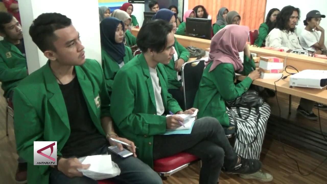 Mahasiswa Antropologi UNAND Belajar Jurnalistik