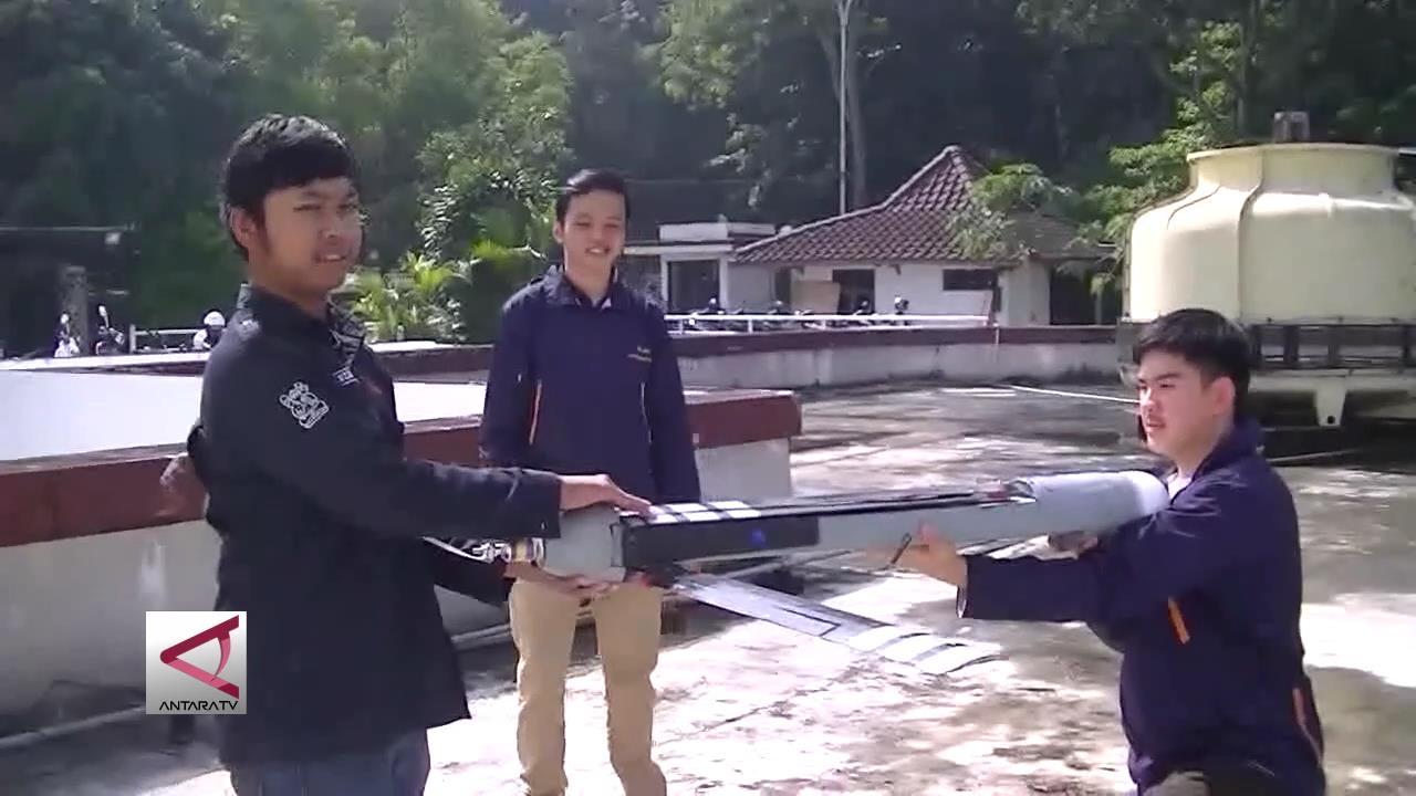 Mahasiswa ITB Ciptakan Pesawat Lipat Tanpa Awak