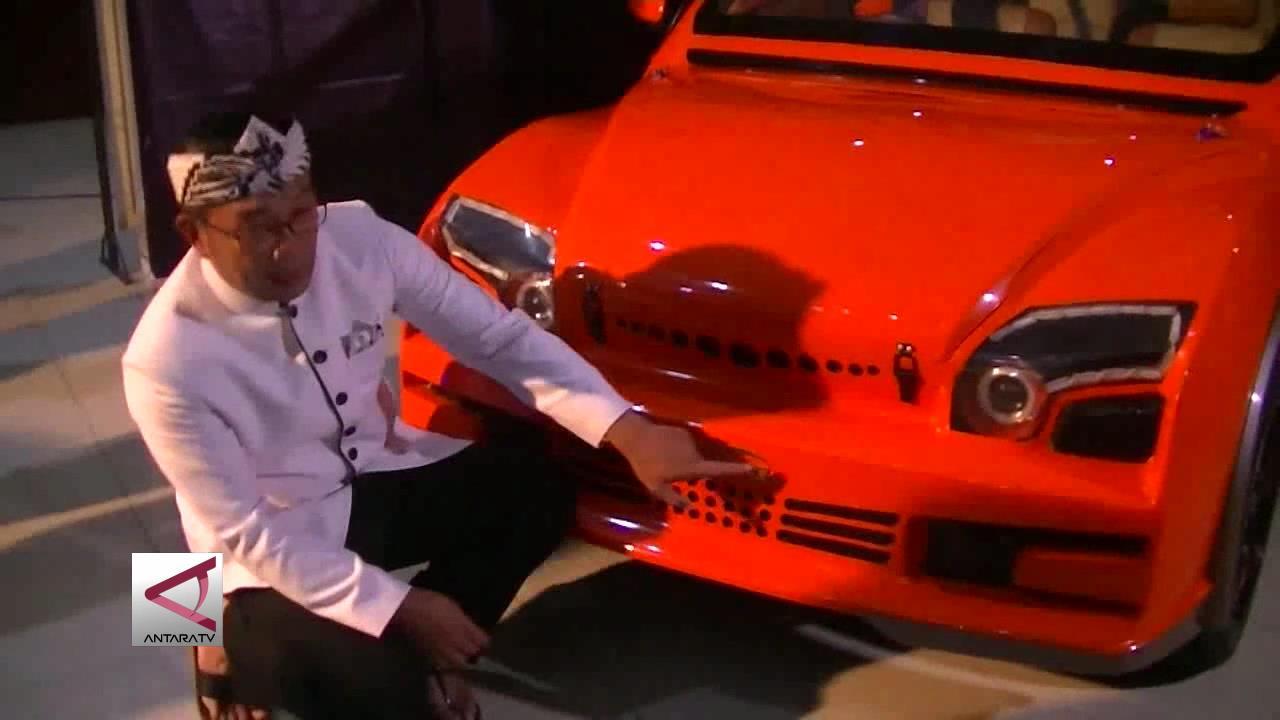 Walkot Perkenalkan Mobil Listrik Karya Mahasiswa Bandung