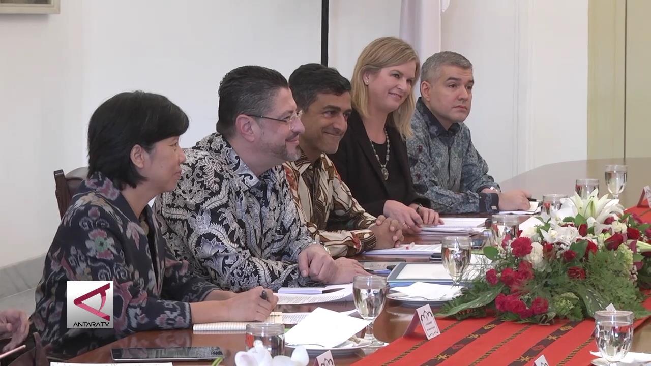 Presiden Terima Perwakilan Bank Dunia Indonesia