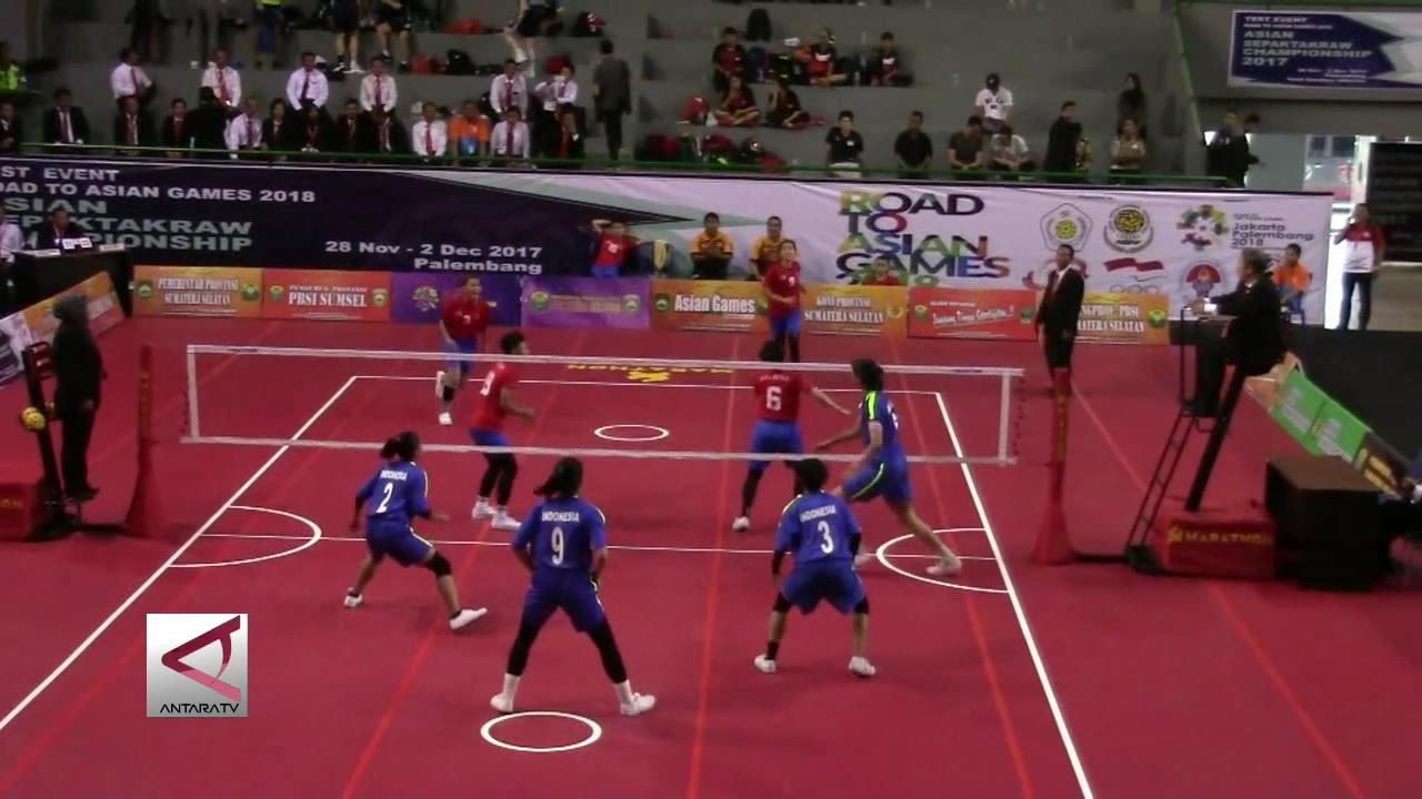 10 Negara Tampil di Test Event Sepak Takraw Asian Games 2018