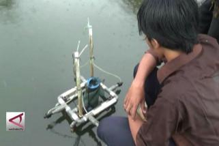 Generator microbubble  percepat waktu panen ikan