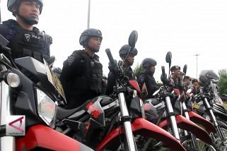 Apel Gabungan Pengamanan Pilkada Maluku Utara