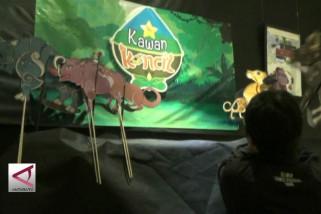 Wayang Digital 'Si Kancil' dari Yogyakarta