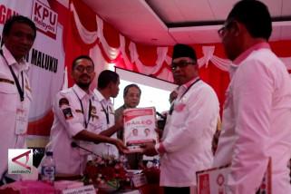 Mantan Kakor Brimob Daftar ke KPU Maluku