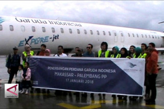 Garuda Layani Rute Baru Makassar – Palembang