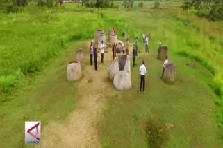 Mengenal masa lalu di Cagar Budaya Megalitikum Pokekea
