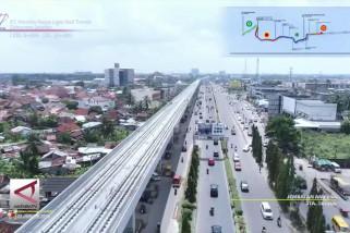 Moratorium tak pengaruhi LRT Palembang