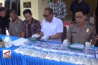 Polisi sita 50 ton garam tanpa izin edar