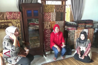 Industri Batik Tanah Liek Khas Sumatera Barat