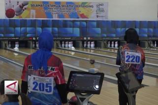 Ajang pemanasan bagi atlet boling Nasional