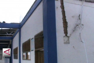 Puting Beliung rusak puluhan rumah warga