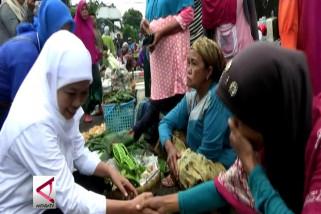 Dua Cagub Jatim sasar pedagang & petani di Malang