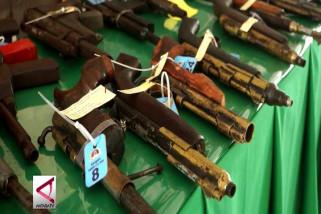 Kodam Cenderawasih sita 74 pucuk senjata api