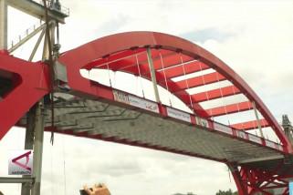Jembatan holtekamp rampung bulan Juli 2018