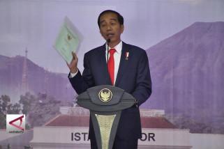 Presiden bagikan 15.000 sertifikat tanah di Kabupaten Bogor