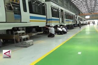INKA: Pengerjaan fisik LRT Palembang capai 90%