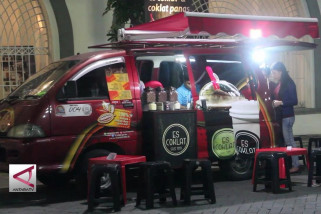 """Puluhan """"Food Truck"""" Ramaikan Festival Kuliner Di Semarang"""