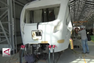 INKA percepat pengerjaan LRT Palembang