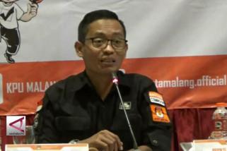 KPU Kota Malang coret 4.435 pemilih dari DPT