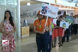 Sosialisasi hak-hak konsumen di Bandara Soetta