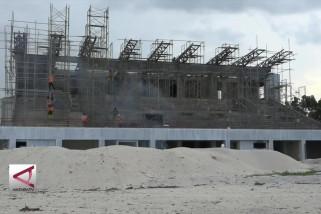 Kemen PUPR kebut pembangunan tribun VIP dan VVIP Voli Pantai