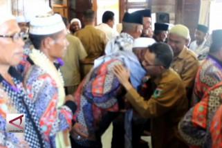 Pemda Kabupaten Seram sambut jamaah umroh