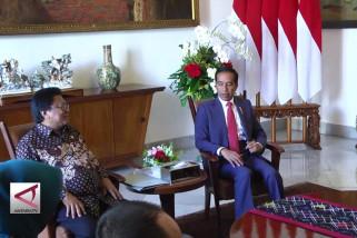 Ketua DPD bahas pelaksanaan UU MD3  bersama presiden