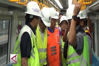Menhub uji coba dinamis perdana LRT Palembang