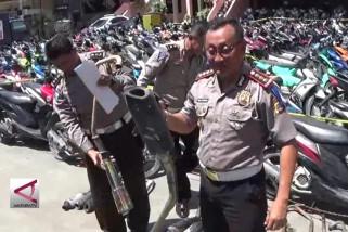Ribuan pengendara di Sulteng ditilang petugas