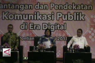 2 Menteri sampaikan strategi komunikasi di era digital