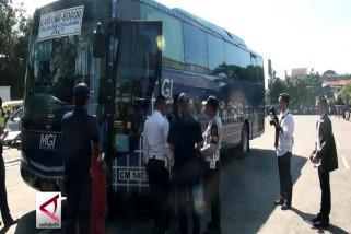 Petugas kandangkan 6 bus tak Laik jalan