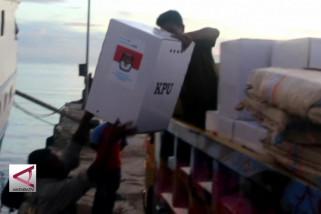 Pengiriman surat suara dengan kapal laut dipercepat