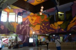 Sensasi Mudik di Terminal Mural Tiga Dimensi