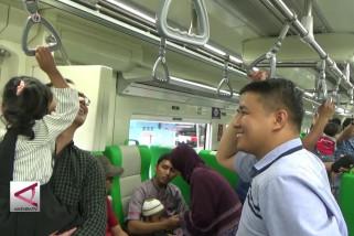 Penumpang KA Bandara Minangkabau Ekspres naik 1.200%