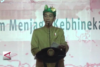 Presiden ajak masyarakat jaga budaya dan adat