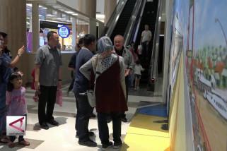 Gubernur Sumsel Sambangi Mal Sosialisasikan Asian Games