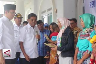 Mensos beri bantuan ke ahli waris korban penambangan liar
