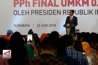 Presiden dorong pelaku UMKM naik kelas