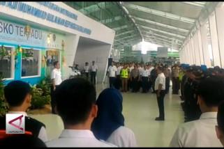 Bandara SAMS resmi tutup posko angkutan lebaran 2018