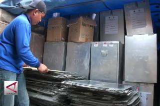 KPU Palangka Raya distribusikan logistik ke 5 kecamatan