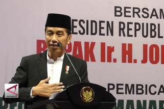 Presiden Mengaku Sabar Jadi Sasaran Fitnah