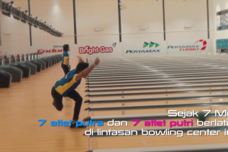 Megahnya Bowling Center di Jakabaring Sport City