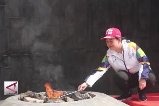 Menko PMK ambil Api Mrapen untujk Asian Games