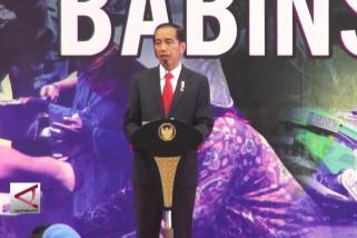 Presiden Jokowi cek kenaikan tunjangan Babinsa