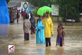 Kota Kendari data nilai kerugian akibat banjir